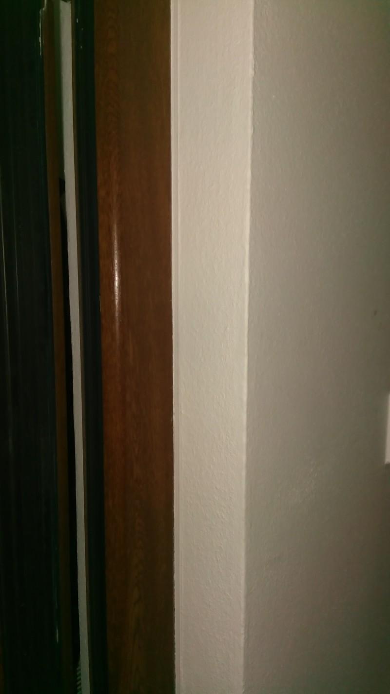 Detail ostění dveří
