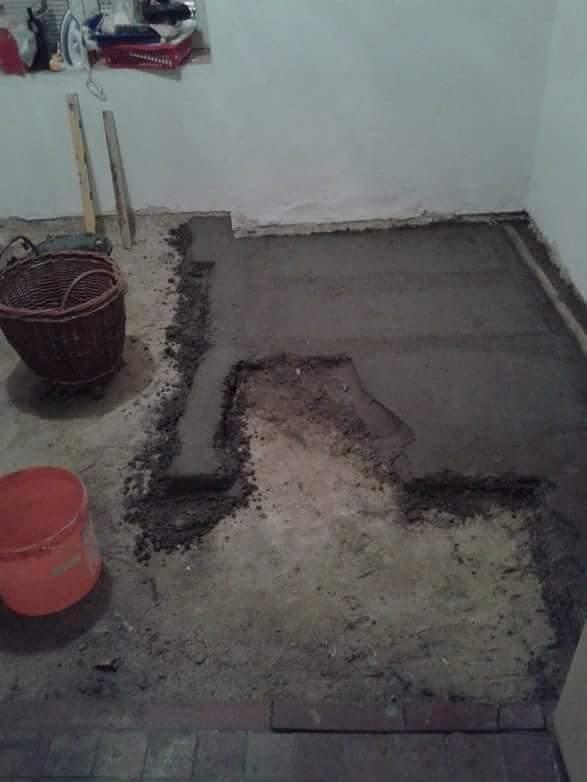 Rekonstrukce podlahy ve starším domě