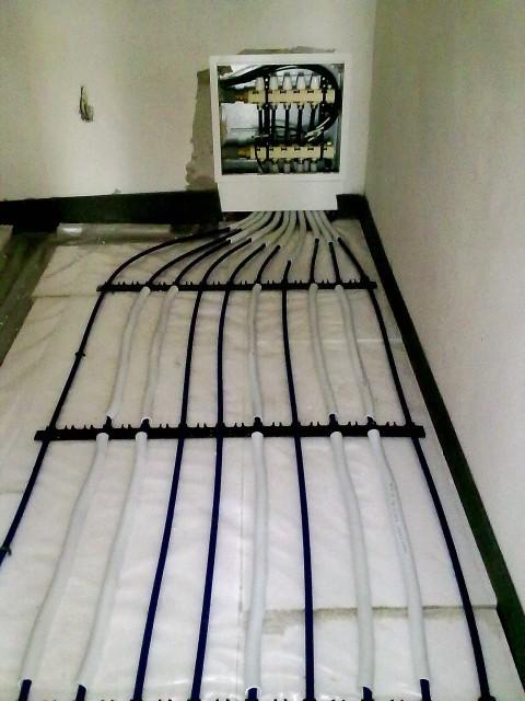 Rozdělovač pro podlahové vytápění