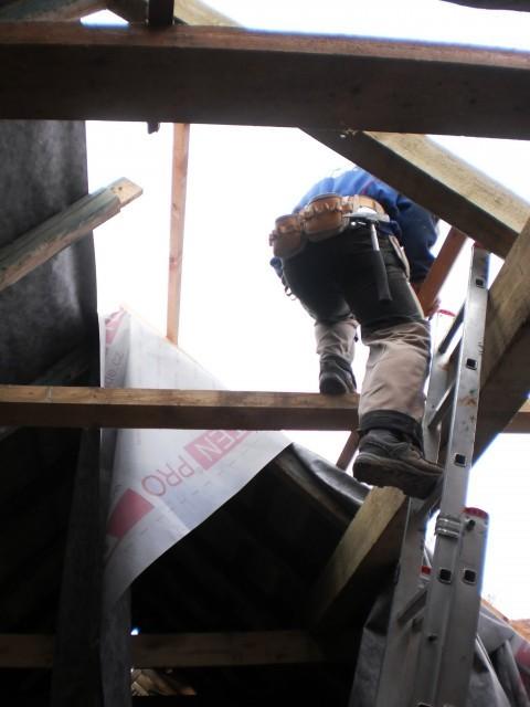 Rekonstrukce stávající konstrukce krovu