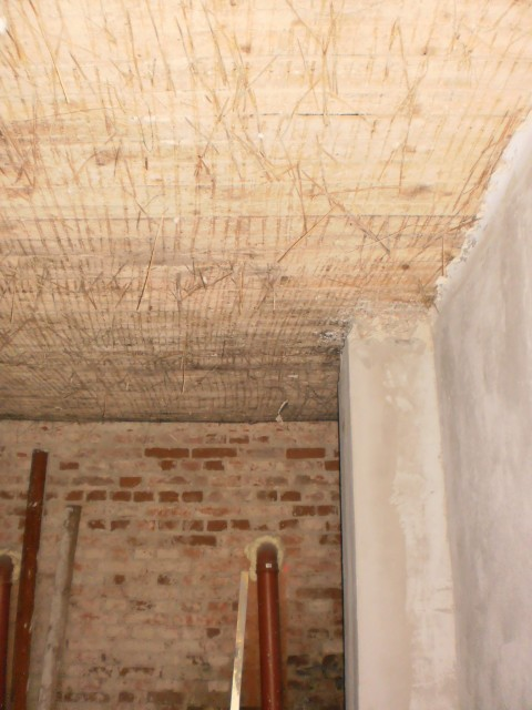 Bourací práce na původních stropních konstrukcích