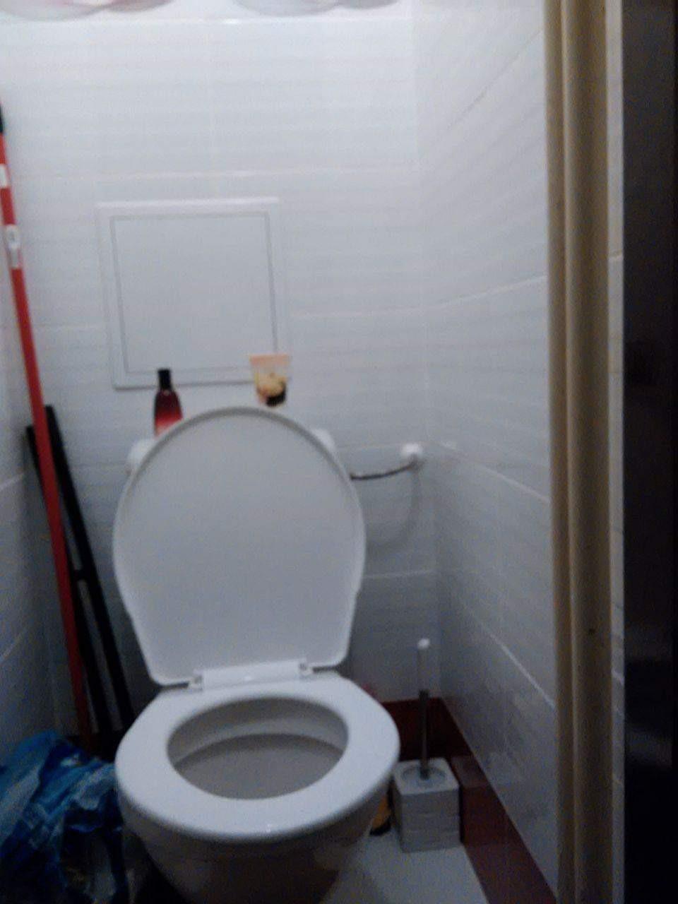 Keramický obklad na WC